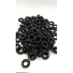20 PCS TELEPHONE LINE HAIR TIE (BLACK COLOR)