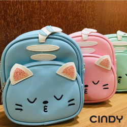 CUTIE CAT KIDS 2 WAY SLING BAG AND BACKPACK