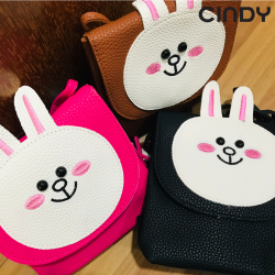 KIDS CUTE RABBIT SLING BAG