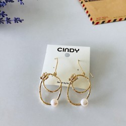 FASHION EARRINGS WITH PEARL
