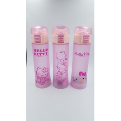 HELLO KITTY WATER BOTTLE WITH STRAW 400ML
